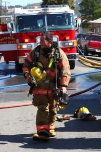 Roseburg Firefighter