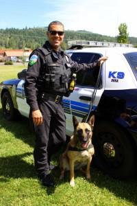 Roseburg K-9 Officer