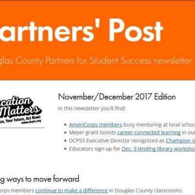 Partners' Post Nov.-Dec. 2017