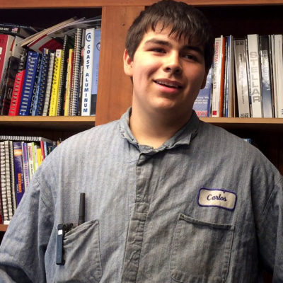 The right fit: SHS grad finds employment through CTE program